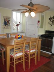 Provincetown townhome photo - relish the gormet stove,