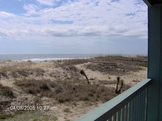 Carolina Beach condo photo - The view looking south.