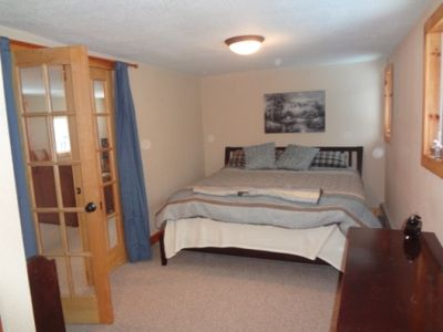 Jay Peak house rental - Master Bed Room - King Bed