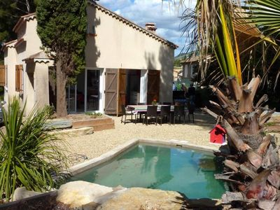 Villa with pool on landscaped garden 500 m from the Grande Plage des Lecques