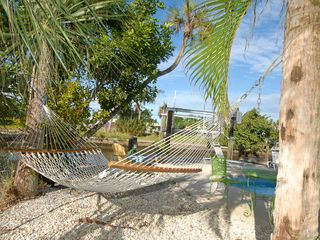 Fort Myers Beach cottage photo - Pool and dock