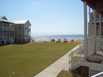 View the Beach from the porch