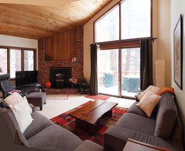 Mammoth Lakes townhome rental - Living Room
