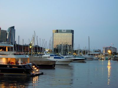 Nearby Puerto Madero yacht club