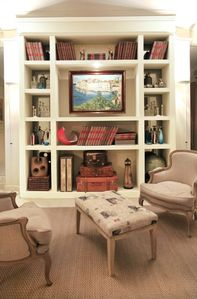 Bookcase in Reading Area