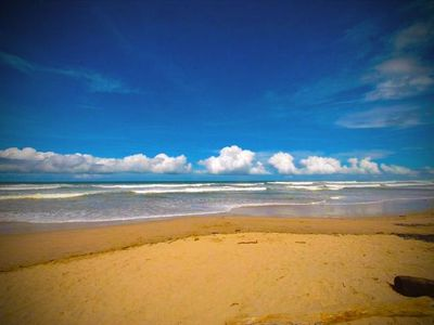 Stroll the 3 mile long beach, Playa Guiones or build castles