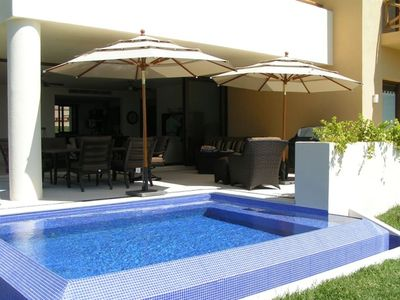 Plunge Pool on terrace