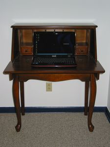 Secretary in Spare bedroom