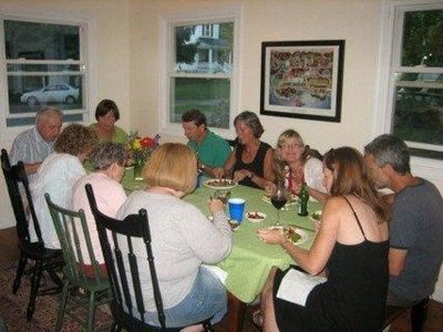 Family Reunion Dinner in Maine