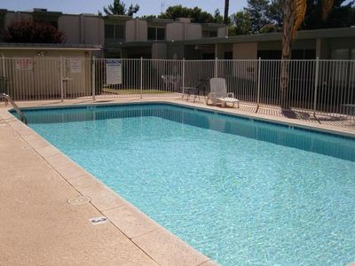 Old Town Scottsdale townhome rental - Pool