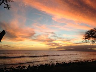 Lahaina house photo - a nice sunset on the beach just 5 minutes away...