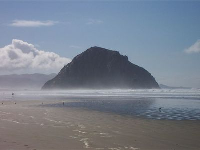 Morro Rock from Our Beach