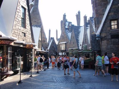 Harry Potter at Universal Studio