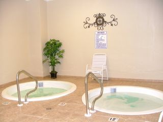 Fort Morgan condo photo - Picture Yourself Relaxing in the Hot Tubs