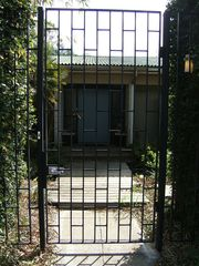 Winter Haven house photo - Custom iron gate for the courtyard.