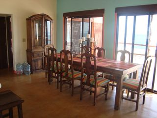 La Ventana villa photo - Upstairs dining