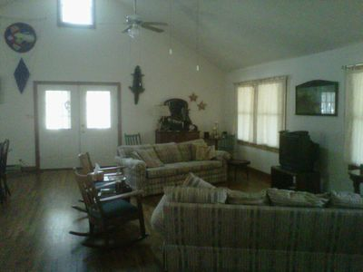 Pentwater house rental - Greatroom