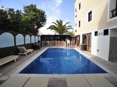 2 persons Studio with share swimming pool @ Anny's Perissa beach