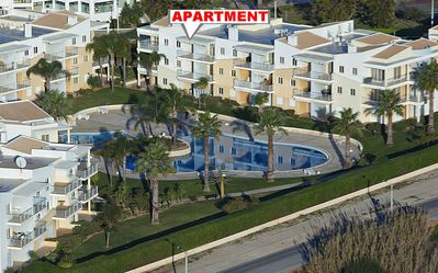 BEAUTIFUL, FUNCTIONAL  APARTMENT, SEA VIEW. The beautiful Alvor beach only 5 minutes walk ...
