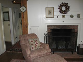 Woodstock house photo - Living Room Fireplace