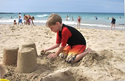 Relax at the beach or build a sandcastle. Endless fun!