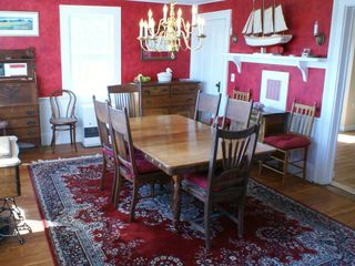 Cranberry Isles estate photo - Antique Section Dining Room