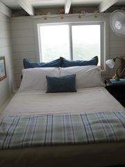 Coral Bay house photo - loft with double bed (3rd bedroom)
