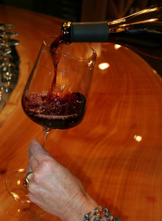 OUR PINOT NOIR HAS WONDERFUL COLOR, ROUND AND PLEASANT MOUTHFEEL!