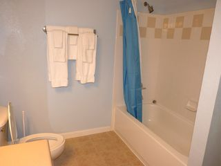Runaway Beach Resort condo photo - Full sized Guest Bathroom, with tub/shower.