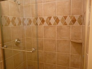 Poipu condo photo - New Italian tile shower