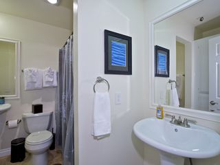 Pacific Beach condo photo - Bathroom with tub/shower and 2 sinks