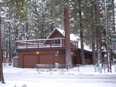 Al Tahoe cabin rental - Exterior of the cabin