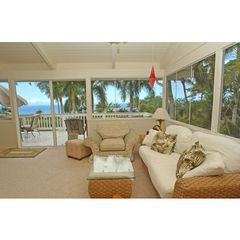 Kailua Kona house photo - Sunroom with private lanai and 180 degree ocean views