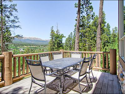 Erzincan house rental - Mountain Views from the Outdoor Dinner Table