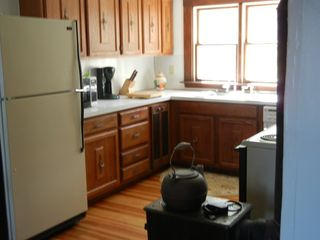 Rockport house photo - Kitchen w/electric range, dishwasher