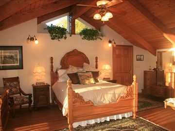 Yorba Linda estate rental - Come enjoy our Ranch Retreat! King's Room - Master Suite (Upstairs)