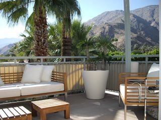 Palm Springs condo photo - South facing view from balcony