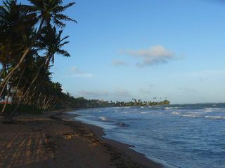 Humacao condo photo - The beach is just a short walk away.