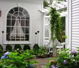 Kennebunkport house photo - Summer Garden at the Oliver Davis House