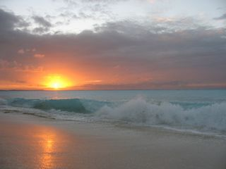 Providenciales - Provo cottage photo - Sunset at Pelican Point Beach