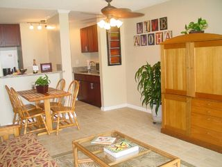 Haleiwa condo photo - Living Area