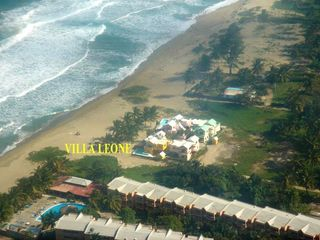 Cabarete villa photo - Aerial View of Villa Leone and 3 Neighbor Villas