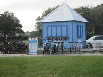Rent Bikes on-site