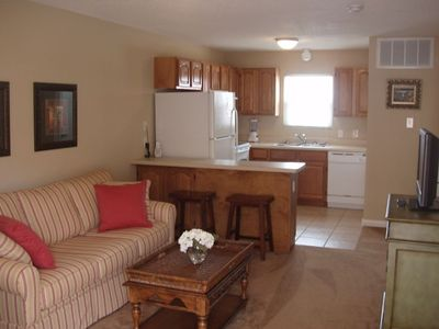 You will be welcomed by a well appointed, professionally decorated condo!