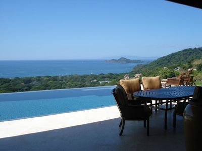 Infinity Pool Overlooking Gulf of Papagayo