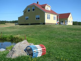 Cheticamp house photo - Acadian pride!