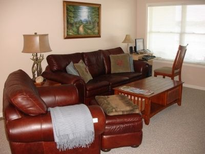 East Jordan condo rental - Living Room - Lake View - 42 inch LCD TV