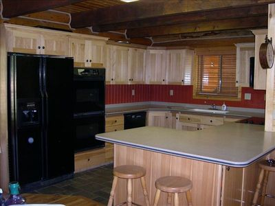Heber City lodge rental - Kitchen