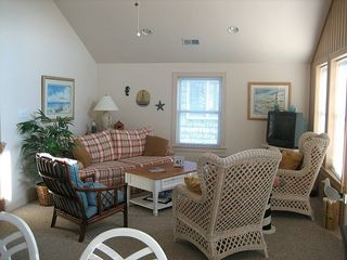 Kitty Hawk house photo - Relax and watch TV or a movie.