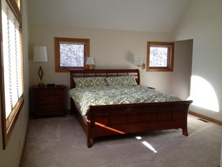 Moultonborough house photo - Master Bedroom, king, downstairs